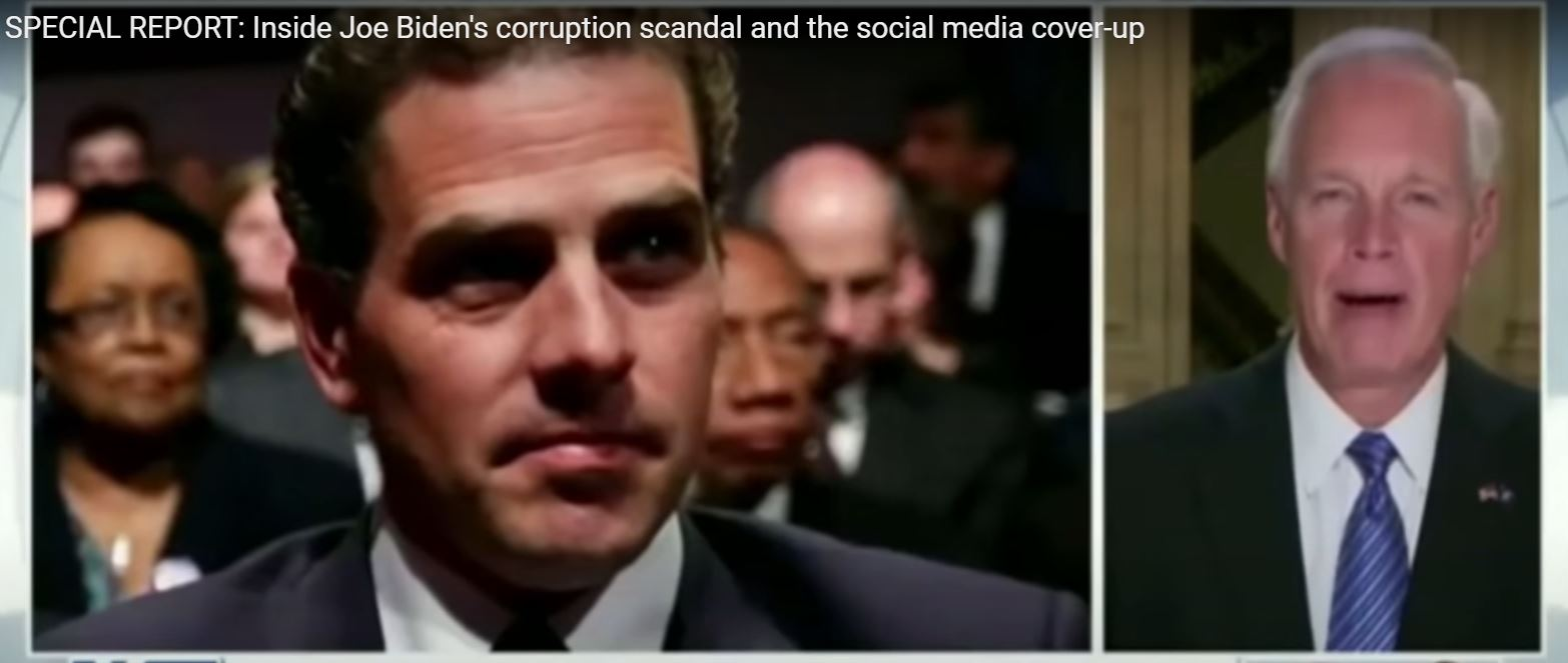 Senate Homeland Security Committee – Special Report on Joe Biden Scandal