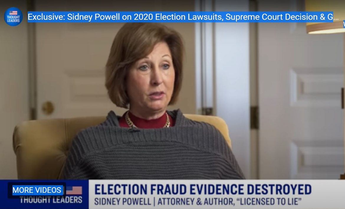 Can Sidney Powell Prove Foreign Interference in the 2020 Election?