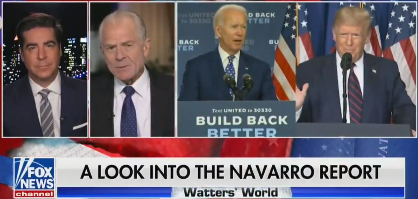 Peter Navarro Exposes Election Fraud in New Report (Video)