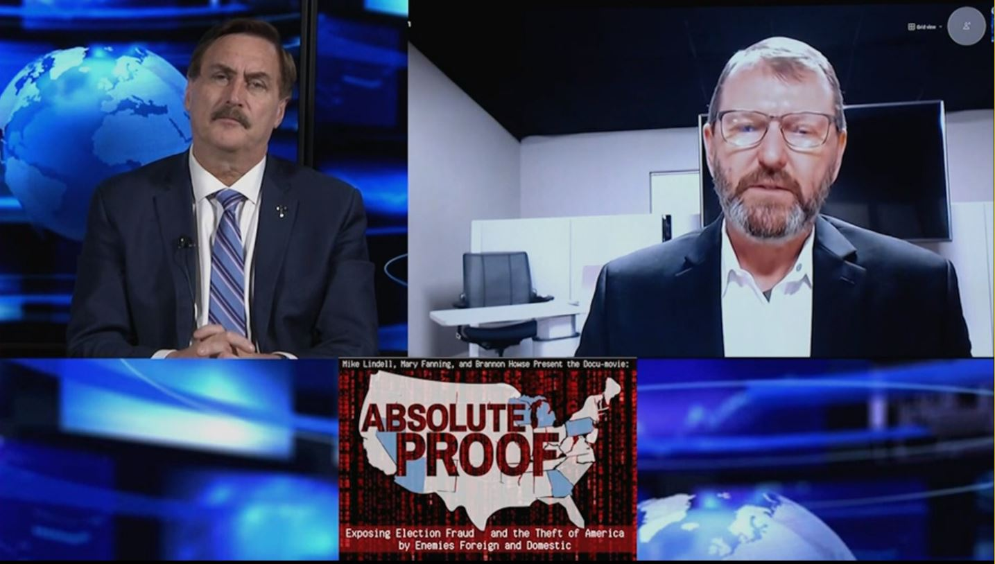 Mike Lindell, the MyPillow Guy, and His Documentary Absolute Proof