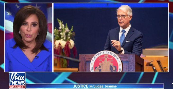 Judge Jeanine Pirro Exposes Pro-Criminal Los Angeles DA George Gascon