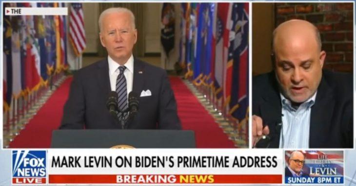 Mark Levin Debunks President Joe Biden's Covid-19 Vaccine Claims