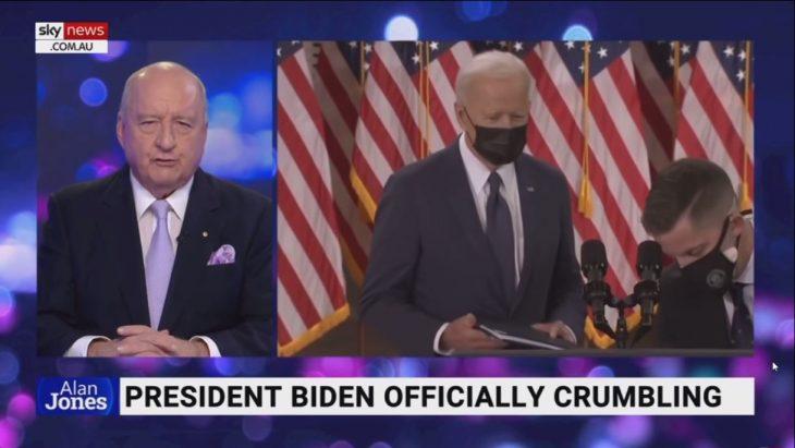 Australian Sky News TV Host exposes America's Media Bias of President Biden