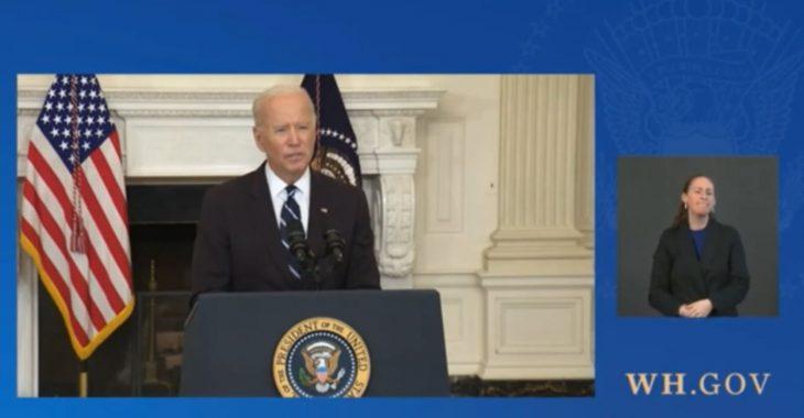 President Joe Biden Orders Vaccine Mandates